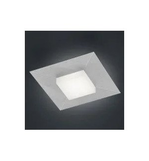 Diamond 1 Light Ceiling Fixture in Silver