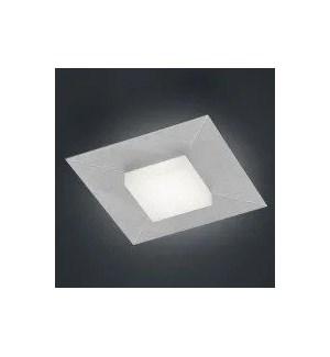 Diamond 1 Light Ceiling Fixture in Silver