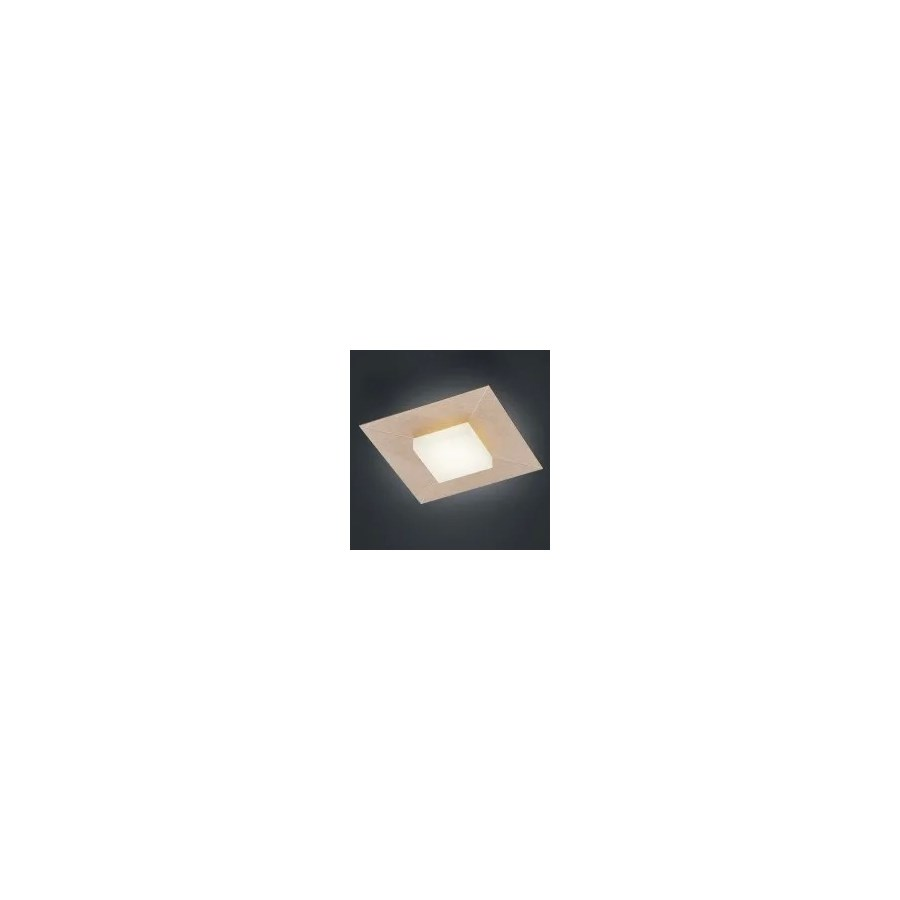 Diamond 1 Light Ceiling Fixture in Rose Gold