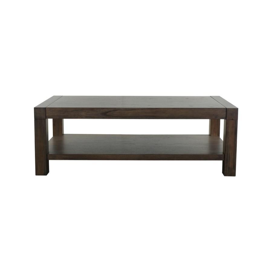 Moliano Wooden Coffee Table & Platform