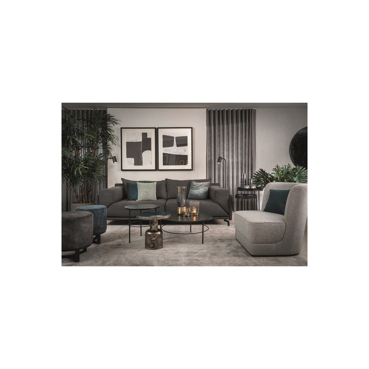 Verona Couch With Milton Fabric