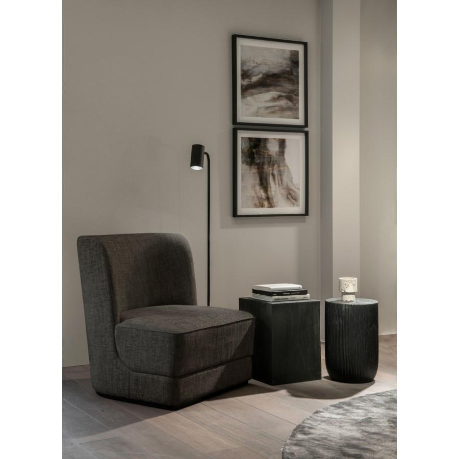 Hale Loungechair On Plattform & Brema Fabric