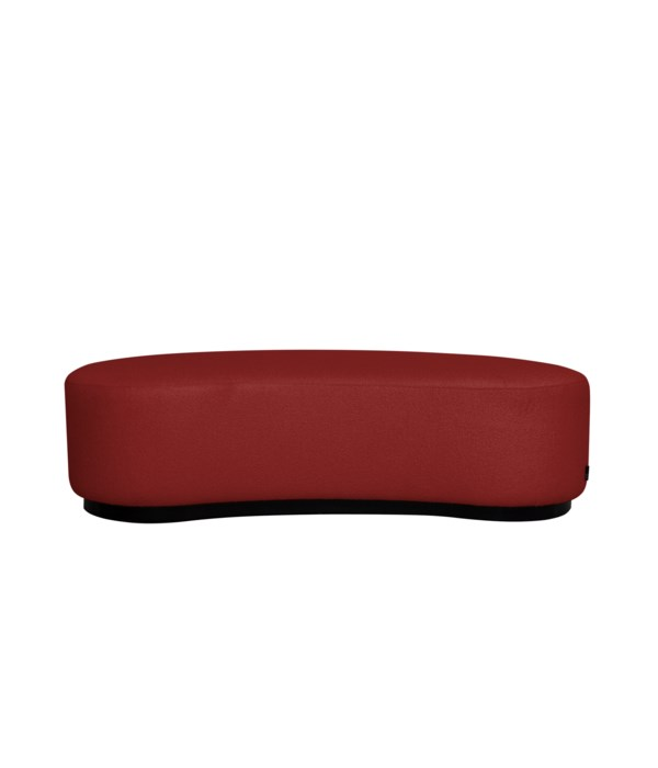 Curve Stool In Challenger 141 Red