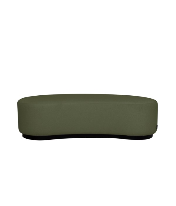 Curve Stool In Challenger 162 Green