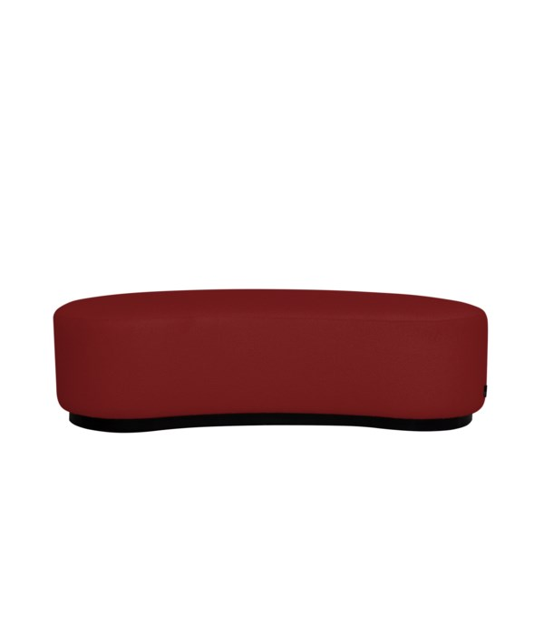 Curve Stool In Giant 18 Red