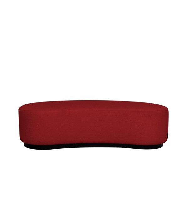 Curve Stool In Rate 141 red