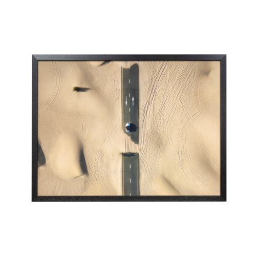 Picture Frame: Arid Automobile Barren