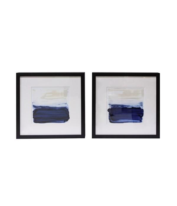 Ocean Brushstrokes Artwork