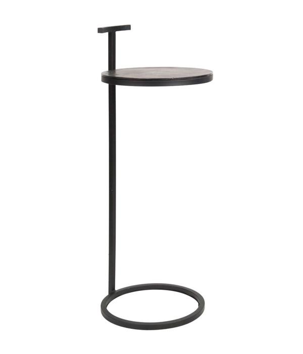 End Table Round Aluminium