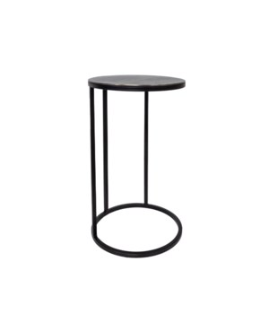 End Table Round, Graphite