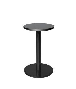 Marais Round End Table-Black Base