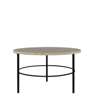 Montreux Coffee Table, Tavertine Top
