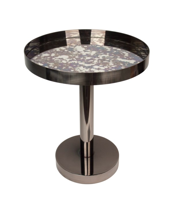 Chap Coffee Table With Antique Mirror Top