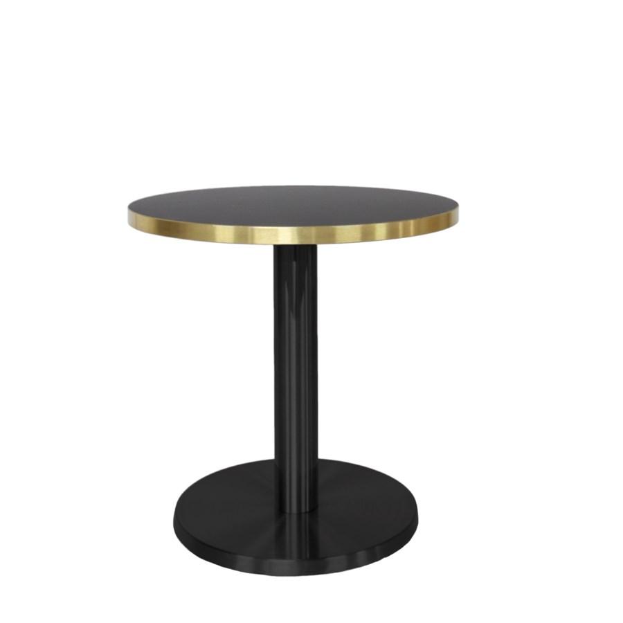 Marais Round Coffee Table-Black Base