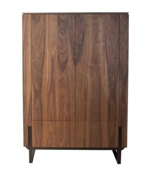 Framed Bar Cabinet