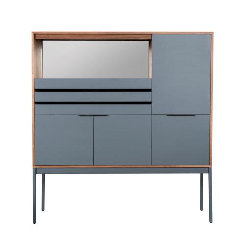 Aberdeen Bar Cabinet With Glass