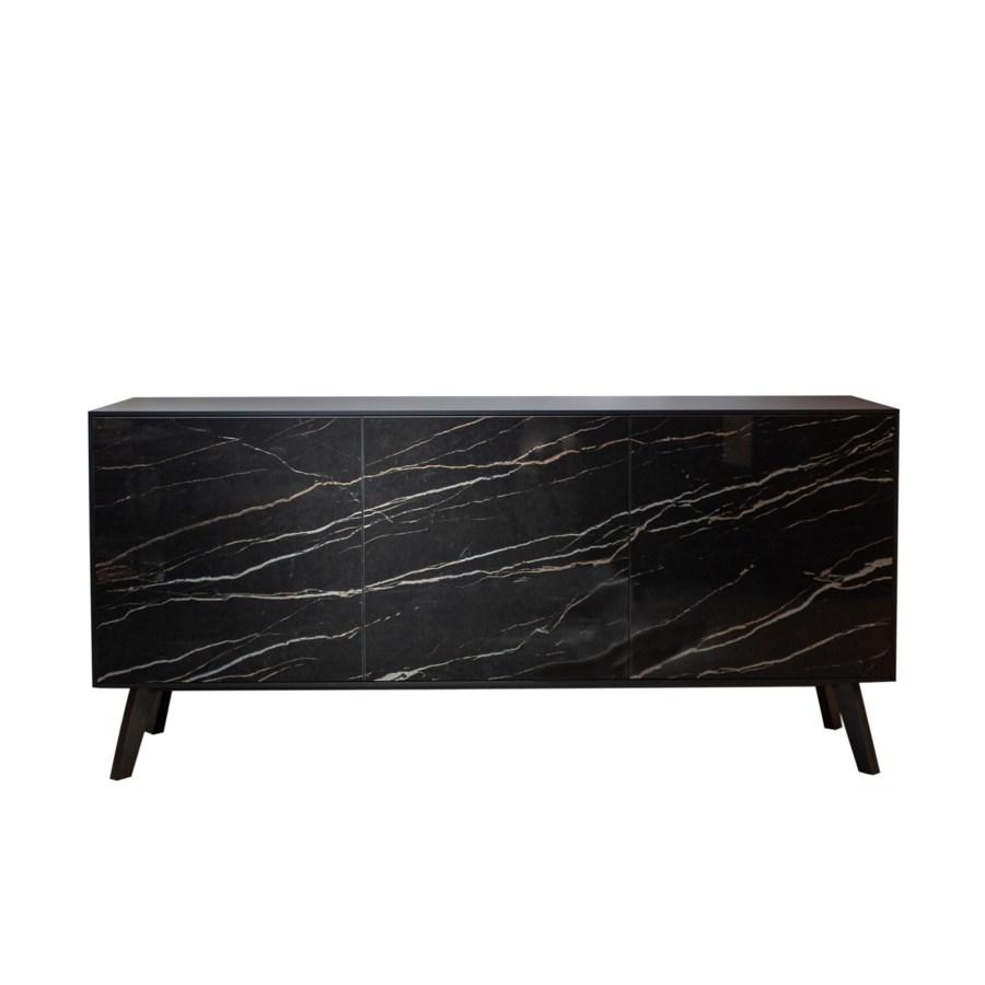 Buffet Cabinet, Thundernight Gloss Ceramics Front
