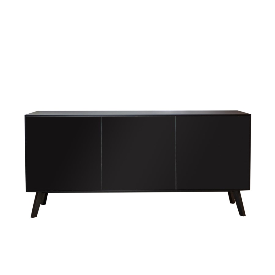 Gerona Buffet Sideboard, Veneered Smoked Oak Front