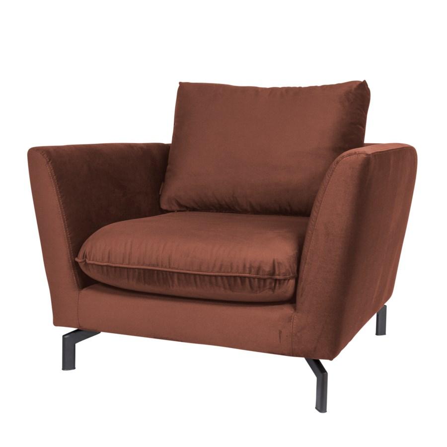 Avalon Loungechair, Iron Frame And Paris Fabric