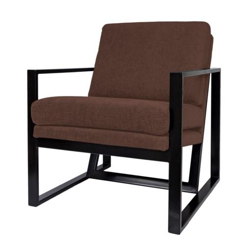 New Milo Loungechair Iron Frame With Paris Fabric