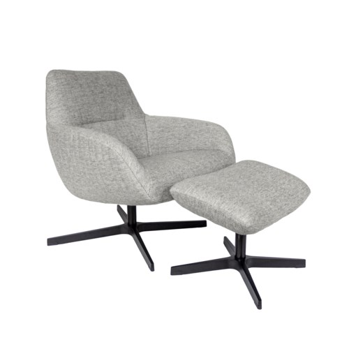 Finley Lounge Chair & Footrest - Amsterdam