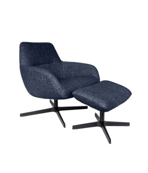 Finley Lounge Chair & Footrest - Giant