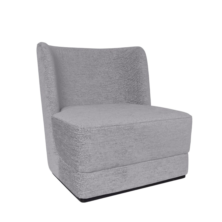 Hale Lounge Chair On Plattform - Cameleon