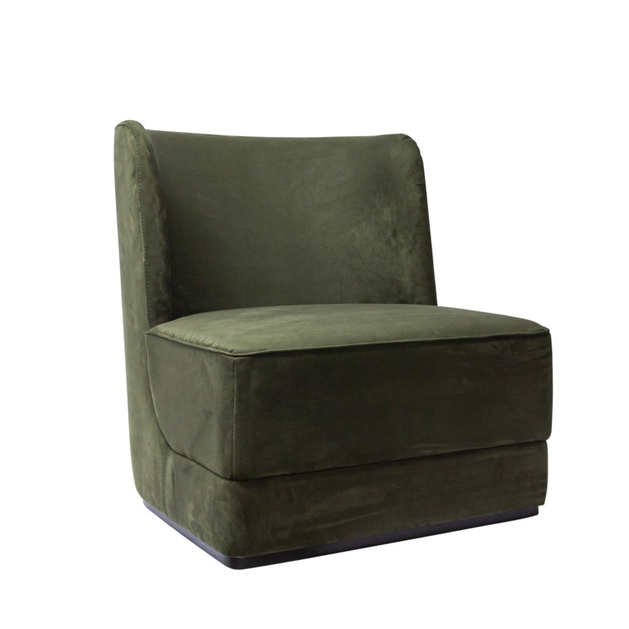 Hale Lounge Chair On Plattform - Yellowstone