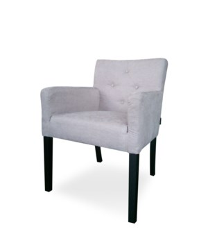 York Armchair W/O Piping & Satina Fabric