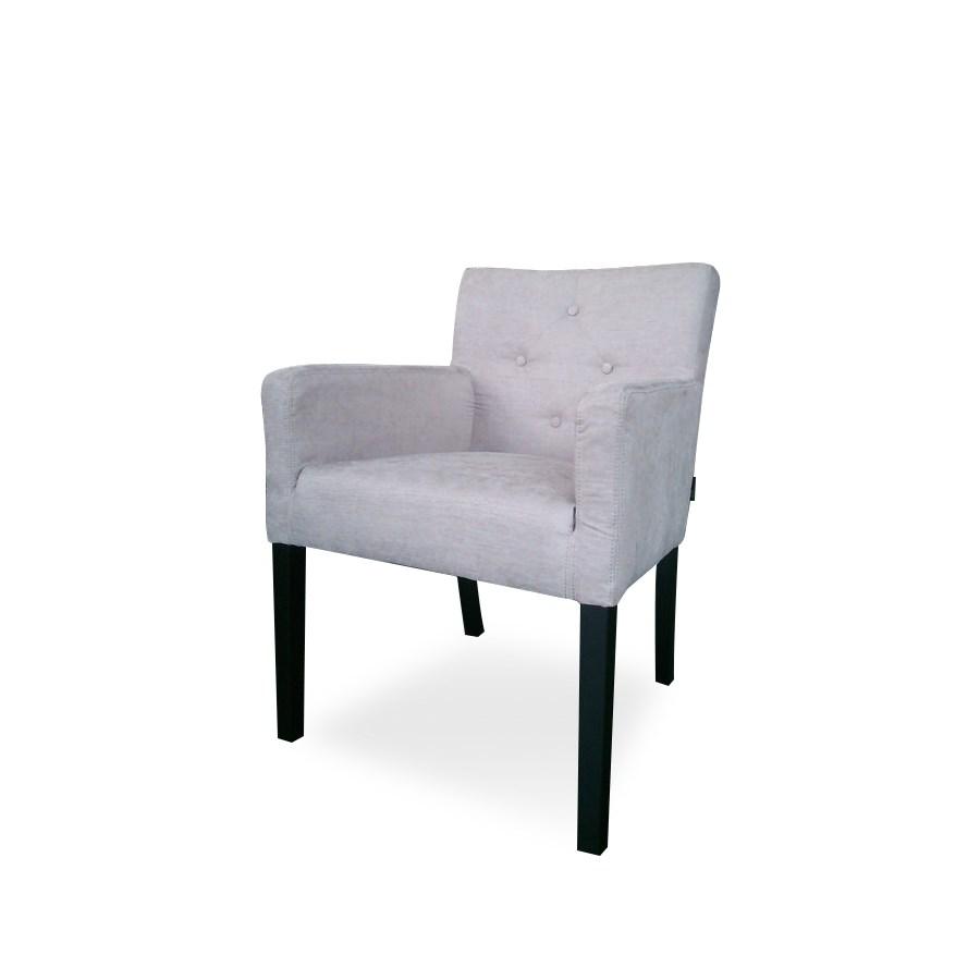 York Armchair W/O Piping & Satina Fabric