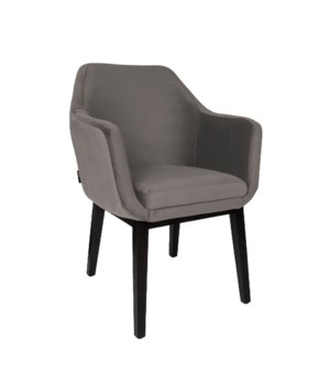 Volvere Armchair With Brown Legs - Aspen