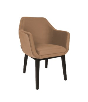 Volvere Armchair&Brown Legs And Warlock Fabric