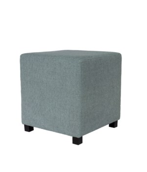 Square Stool With Brema Fabric