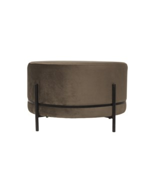 Baba Stool On Stand With Velvet Fabric M