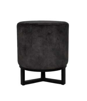 Flynn Stool On Iron Stand With Adore Fabric