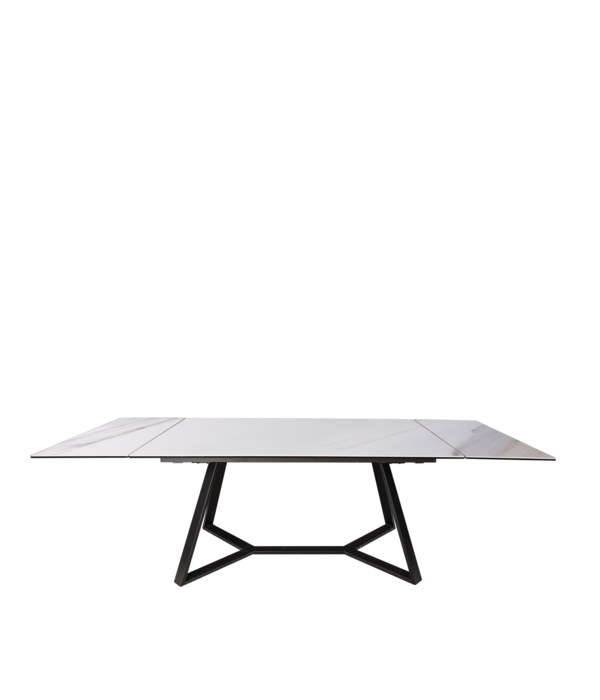 Gerona Dining Table Extendable Calac. Oro Ceramic