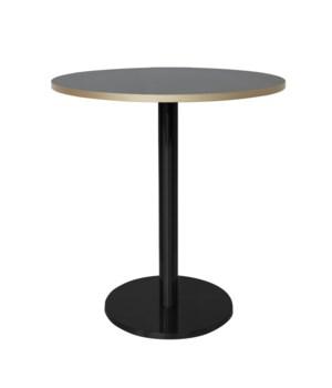 Marais Round Bistro Table Low-Black Base