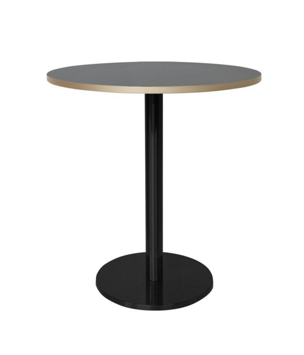Marais Round Bistro Table Black Base Dining Height