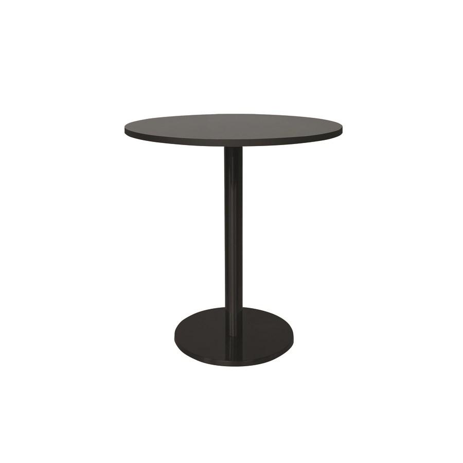 Marais Round Bistro Table-Black Base&Edge