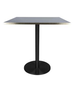Marais Square Bistro Table Low-Black Base