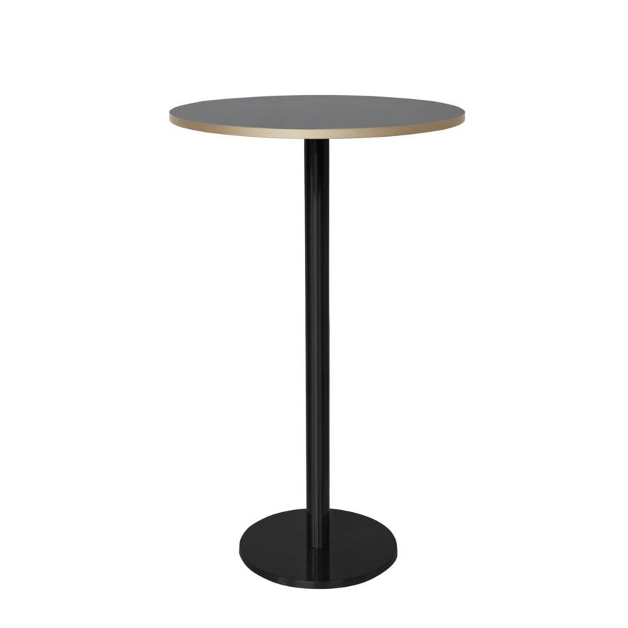 Marais Round Bar Table High-Black Base