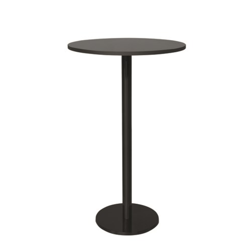 Marais Round Bar Table-Black Base&Edge