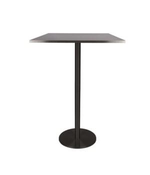 Marais Square Bar Table-Black Base&Edge