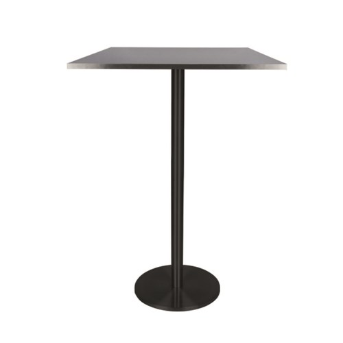Marais Square Bar Table-Black Base&Edge