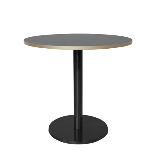 Marais Round Low Dining Table-Black Base