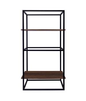 Java Modular 2 Wooden Shelfs