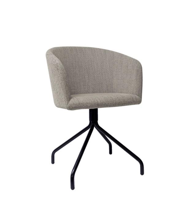 Ratio Swivel Chair In Boston Fabric