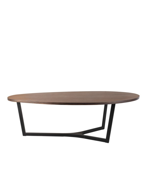 Java Work Table Metal Legs