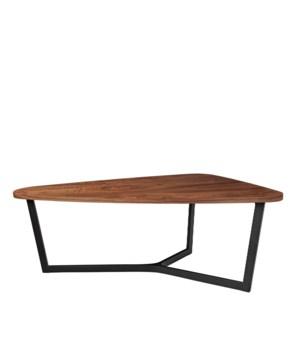 Java Oval Dining Table Metal Legs
