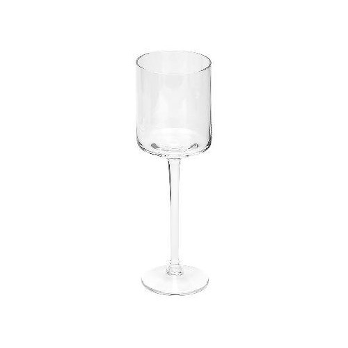Glass White Wine Cylinder
